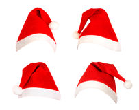 Santa Caps. Stock Photography