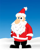 Santa Cartoon Stock Image