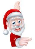 Santa Cartoon stock illustrationer