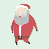 Santa Cartoon Concept Immagine Stock Libera da Diritti