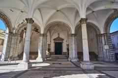 Santa Casa da Misericordia de Beja. Alentejo. Portugal. Stock Photography