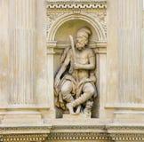 Santa Casa, Loreta, Prague. Statue of an Old Testament Prophet at the Santa Casa of Loreta, a large pilgrimage destination in Hradcany, Prague, Czech Republic Stock Images