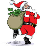 Santa Cash Stock Photos
