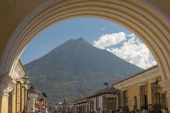 Santa Catalina Arch Antigua Guatemala arkivfoto