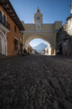 Santa Catalina Arch, Antigua, travel royalty free stock photo