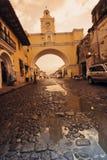 Santa Catalina Arch reflected Royalty Free Stock Photos
