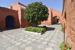 Santa Catalina, Arequipa, Perú Fotos de archivo