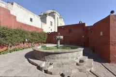 Santa Catalina, Arequipa, Perú Imagen de archivo