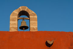 Santa Catalina Bell Tower Royalty Free Stock Images