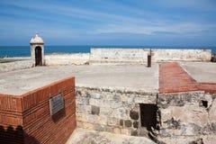 Santa Catalina Bulwark. And fortifications museum Royalty Free Stock Photo