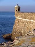 Santa Catalina Castle Images stock