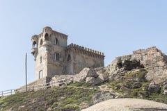 Santa Catalina Castle, Tarifa, Cadix, Espagne images libres de droits