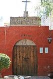 Santa Catalina Cementerio, Arequipa, Peru Royalty Free Stock Images