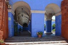 Santa Catalina Convent, Arequipa, Peru. Royalty Free Stock Images
