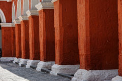 Santa Catalina Convent, Arequipa, Peru. Stock Photography