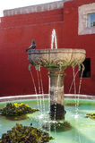 Santa Catalina fountain in Arequipa monastery Stock Photo