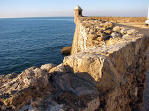 Santa Catalina kasztel w Cadiz Fotografia Stock