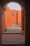 Santa Catalina monaster, Arequipa, Peru Obraz Royalty Free