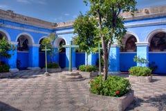 Santa Catalina, monasterio cloisters Royalty Free Stock Photo