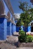 Santa Catalina, monasterio cloisters Royalty Free Stock Photography