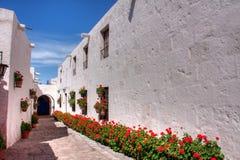 Santa Catalina, monasterio Corridor Stock Photos