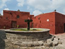Santa Catalina Monastery σε Arequipa, Περού Στοκ φωτογραφίες με δικαίωμα ελεύθερης χρήσης
