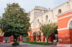 Santa Catalina Monastery σε Arequipa, Περού Στοκ εικόνα με δικαίωμα ελεύθερης χρήσης