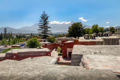Santa Catalina Monastery - Arequipa, Περού Στοκ φωτογραφία με δικαίωμα ελεύθερης χρήσης