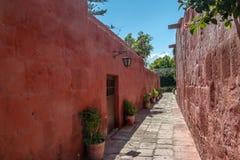 Santa Catalina Monastery - Arequipa, Περού Στοκ εικόνα με δικαίωμα ελεύθερης χρήσης