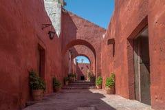Santa Catalina Monastery - Arequipa, Περού Στοκ Φωτογραφία