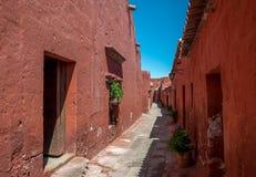 Santa Catalina Monastery - Arequipa, Περού Στοκ Φωτογραφίες