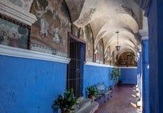 Santa Catalina Monastery - Arequipa, Περού Στοκ εικόνες με δικαίωμα ελεύθερης χρήσης