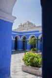 Santa Catalina Monastery Arequipa Photos stock