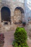 Santa Catalina monastery in Arequipa. Open air kitchen in Santa Catalina monastery in Arequipa, Peru royalty free stock photos
