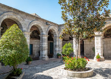 Santa Catalina Monastery - Arequipa, Perù immagine stock libera da diritti