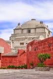 Santa Catalina Monastery - Arequipa, Peru royaltyfri bild