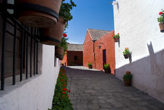 Santa Catalina Monastery. Arequipa, Peru Royalty Free Stock Photo