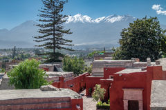 Santa Catalina Monastery - Arequipa, Peru Imagens de Stock