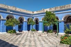 Santa Catalina Monastery - Arequipa, Peru fotografia de stock royalty free