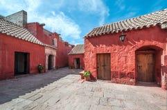 Santa Catalina Monastery, Arequipa, Peru Stock Images