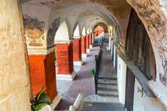 Santa Catalina Monastery Corridor Stock Photography
