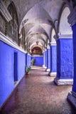Santa Catalina Monastery en Arequipa Perú imagenes de archivo