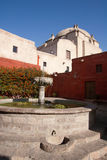 Santa Catalina Monastery fountain Royalty Free Stock Photo