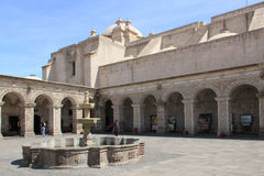 Santa Catalina Monastery, Peru Stock Photography