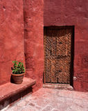 Santa Catalina Monastry Door Stock Photography