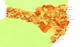 Santa Catarina State - Brazil Stock Image