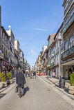 Santa Catarina Street, the main shopping street of the city Royalty Free Stock Image