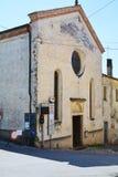Santa Caterina church, Asolo, Italy Stock Image
