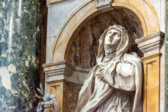 Santa Caterina da Siena in Siena Cathedral Stock Photography