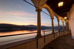 Santa Caterina del Sasso Imagem de Stock Royalty Free